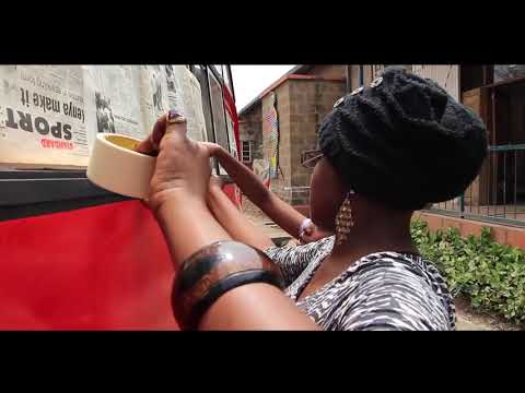 Mathree Grafitti Business in Kenya