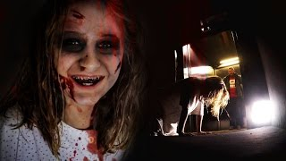 ELEVATOR SCARE PRANK | Halloween Special