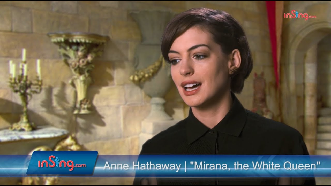 Download Alice Through The Looking Glass | Anne Hathaway talks about the White Queen