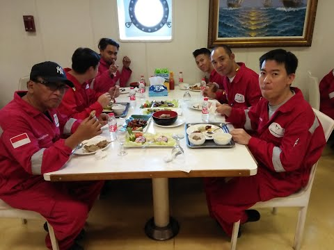 Offshore Catering/Jack Up Rig/Barge/Boat //Meal time