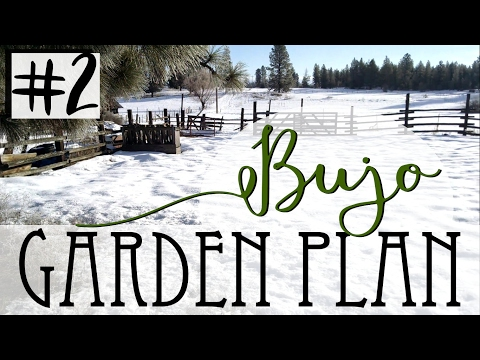 How To Garden Plan In A Bullet Journal - #2 Seeds & Planting Systems