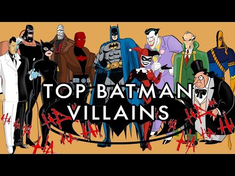 Top 5 BEST Batman Villains of all Time