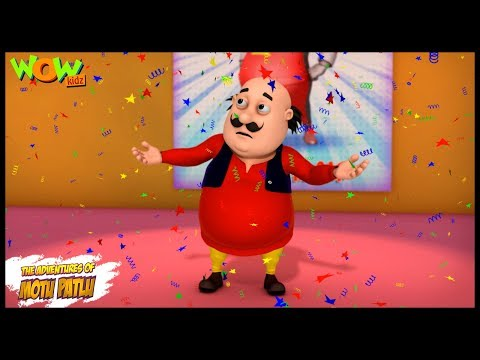 A party invitation  - Motu Patlu in Hindi - 3D Animation Cartoon for Kids -  As seen on Nickelodeon