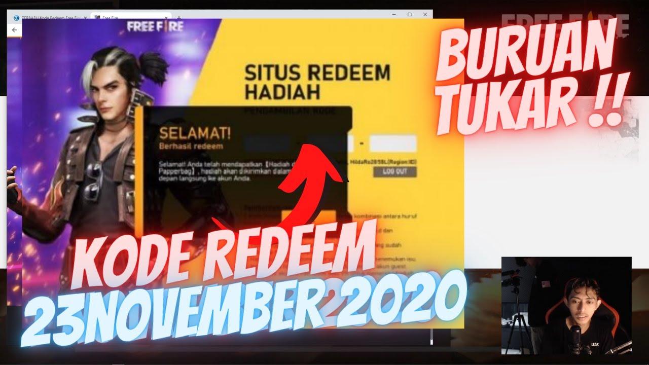 KODE REDEEM FREEFIRE TERBARU NOVEMBER 2020 !! DAPAT BUNDLE SPECIAL !?!