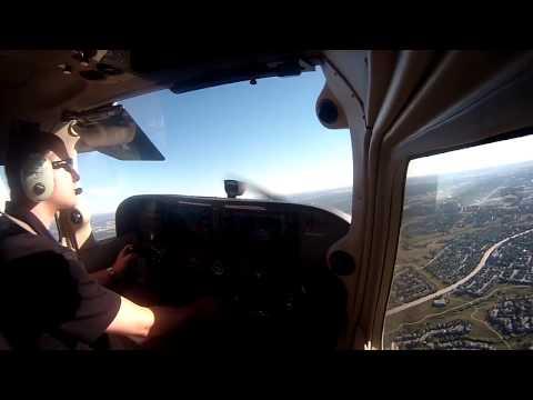 Student Solo Flight Around KAPA (Sep 17, 2013) - 720p