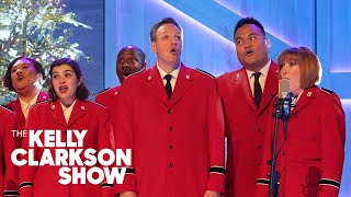 Candace Cameron Bure Brings The Salvation Army Choir To Perform 'Joy To The World' For Kelly
