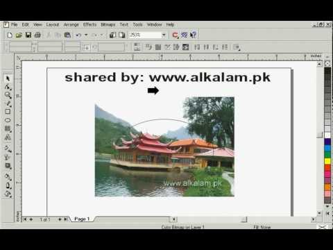 convert-image-into-various-shapes-in-coreldraw