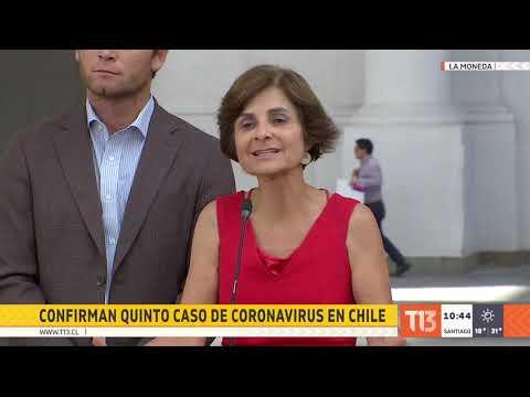 Chile confirma quinto caso de coronavirus Covid-19: fue importado