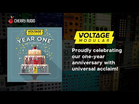 Cherry Audio celebrates first anniversary with Voltage Modular Nucleus, a free modular software plugin synthesizer | MusicRadar