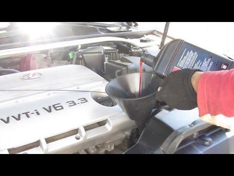 Transmission Fluid Change Toyota Camry / Lexus ES - YouTube