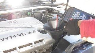 Transmission Fluid Change: Toyota Camry / Lexus ES