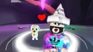 Roblox-transformei meu cachorro em neon no adopt-me