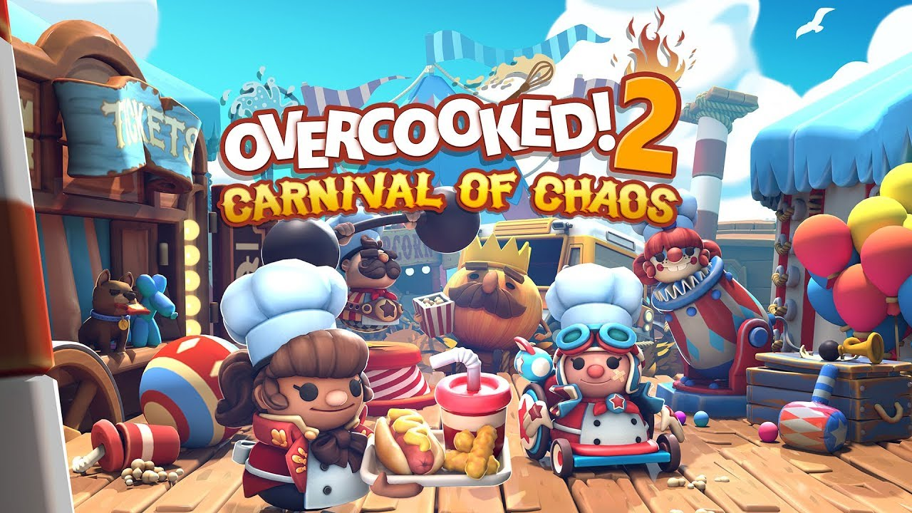 Overcooked! 2 - Introducing the 'Carnival of Chaos' DLC