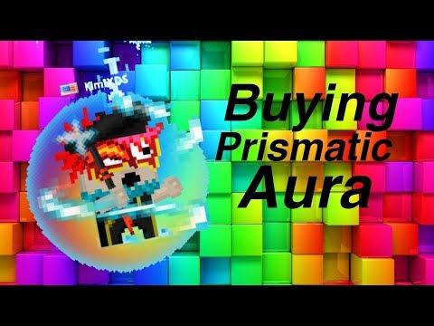 Buying Prismatic Aura! | Growtopia