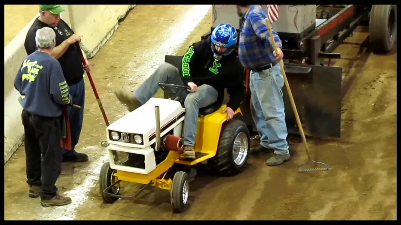 Inside Tractor Pulling : Keystone garden tractor pulls awesome inside sound