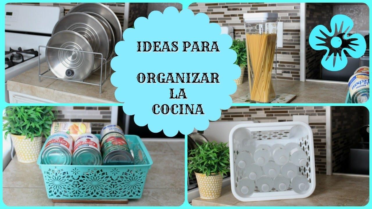 Ideas f ciles para organizar nuestra cocina youtube - Ideas para cocina ...