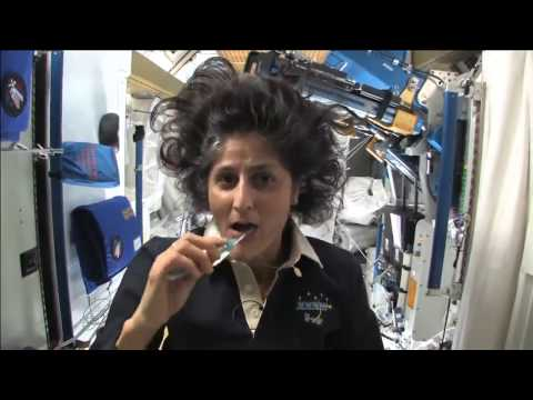 HOW ASTRONAUTS BRUSH THEIR TEETH & POOP IN SPACE #astronaut #nasa #iss #spaceshuttle #spacestation