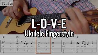 Nat King Cole - L-O-V-E (Ukulele Fingerstyle)