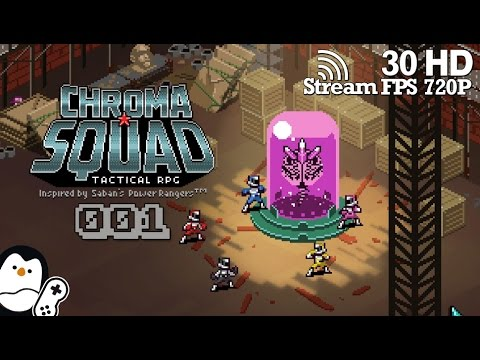 Chroma Squad #01 - Selbst der Held/Boss sein [German] Short Let's Play [Gameplay]