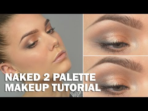 Naked 2 Palette (with subs) - Linda Hallberg Makeup Tutorials