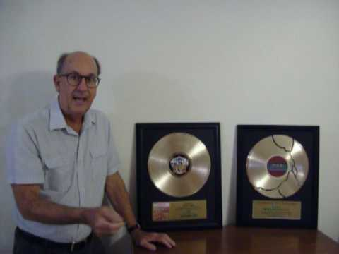 Custom Gold Record with Customized Plaque Award Trophy Platinum