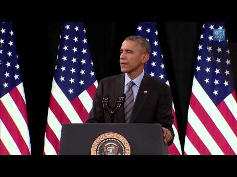 Obama On Immigration Reform - Full Speech at Las Vegas H.S.