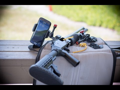 Velocity Clip With Picatinny Mount For Smartphone Shotgun Test Practice