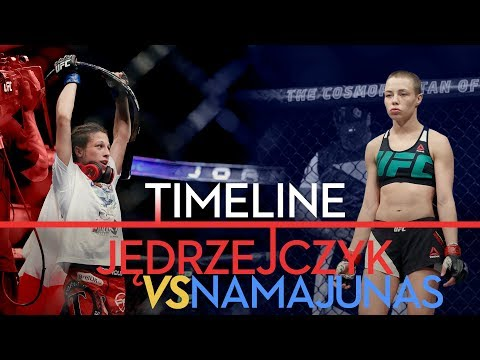 UFC 217: Joanna Jedrzeczyk vs. Rose Namajunas Timeline - MMA Fighting
