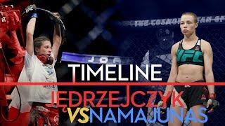 UFC 217: Joanna Jedrzeczyk vs. Rose Namajunas Timeline - MMA Fighting