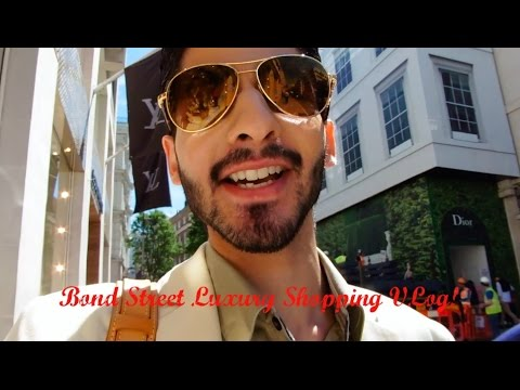 Luxury Shopping VLOG | Bond Street, London!