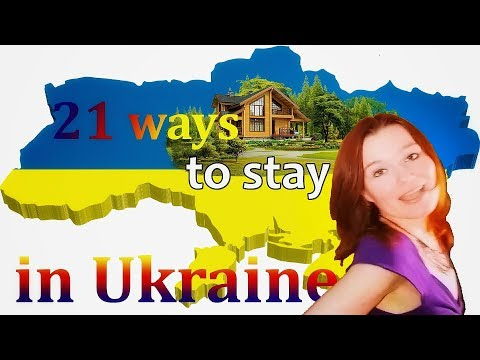 How to live in Ukraine legally for a long time?