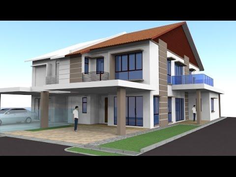 Rekabentuk Ubahsuai Rumah Teres 2 Tingkat End Lot Yen 35 Shah Alam