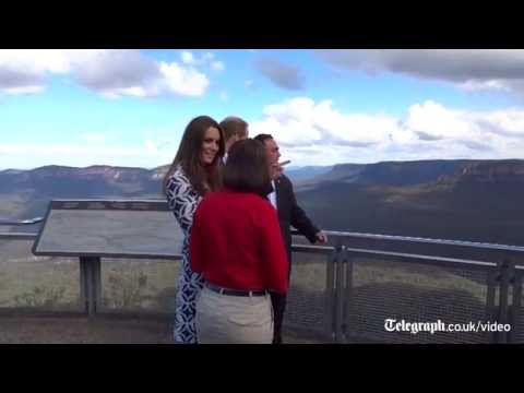 Royal tour: Duke and Duchess visit the Blue Mountains