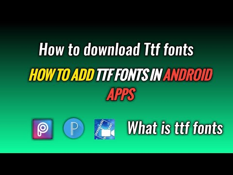 How To Download Ttf Fonts |How To Add Ttf Fonts In Android Apps|TubeTech Tamil