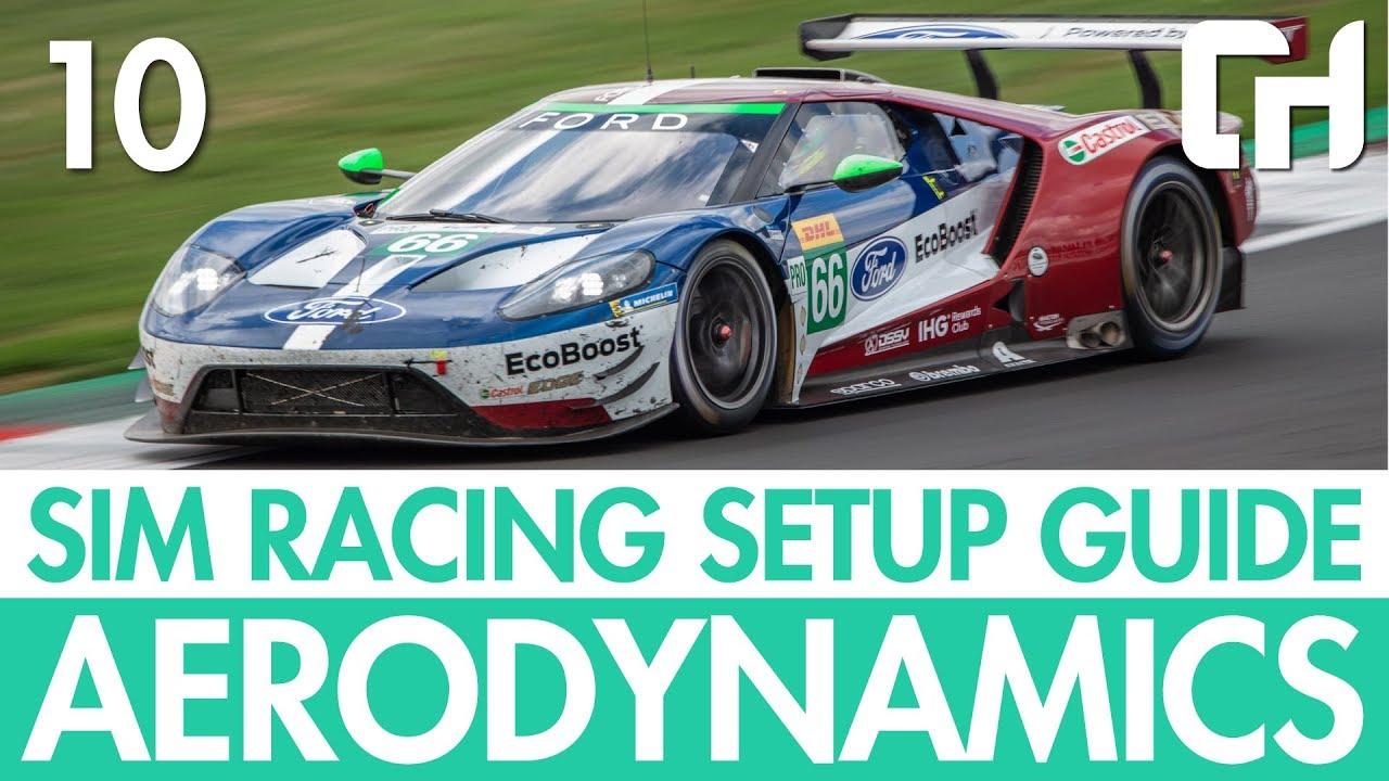 Sim Racing Setup Guide 10 – Aerodynamics [Wings, Splitters & Diffusers]