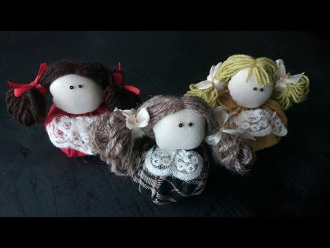 How to make Textil Doll КАК СДЕЛАТЬ КУКЛУ ЗЕРНОВУШКУ