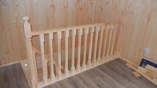 Изготовление лестницы (день 3 + обзор)/ ступенька 48