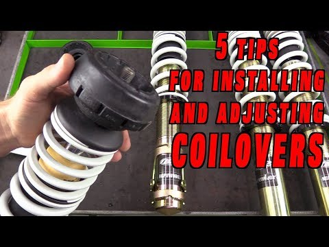 5 Tips For Coilover Adjustment and Installation