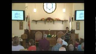 Paulding UMC September 13: Hymn & Benediction