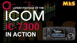 updated latest icom ic 7300 video at ml