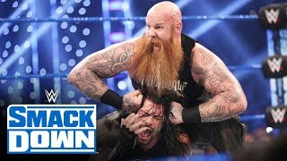 Roman Reigns vs. Erick Rowan - Lumberjack Match: SmackDown, Oct. 4, 2019