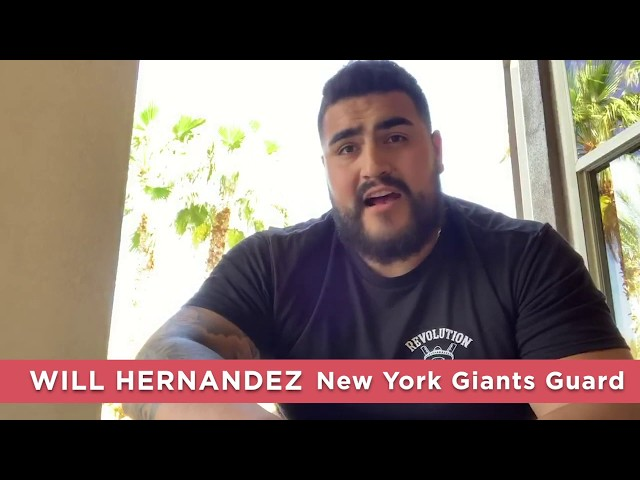 Will Hernandez, NFL player
