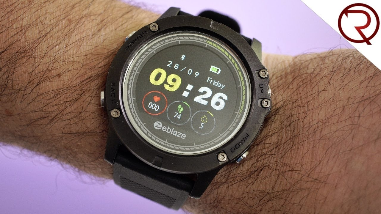 A 29 Smartwatch That S Pretty Good Zeblaze Vibe 3 Hr Review