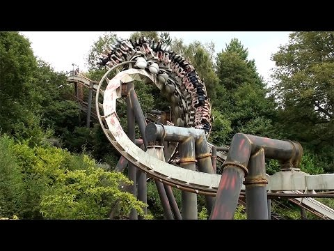 Top 10 Rides At Alton Towers January 2017 (Updated)