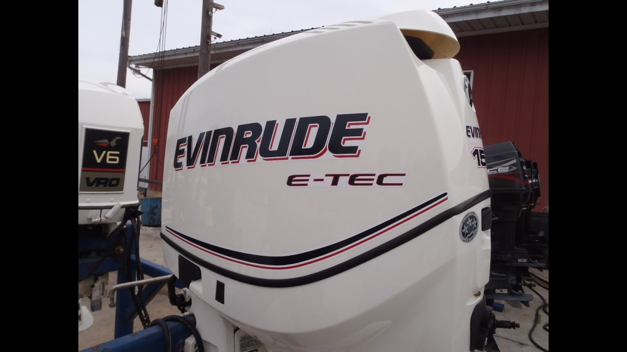 05302373 used 2011 evinrude e tec e150dsliib 150hp 2 Two stroke outboard motors