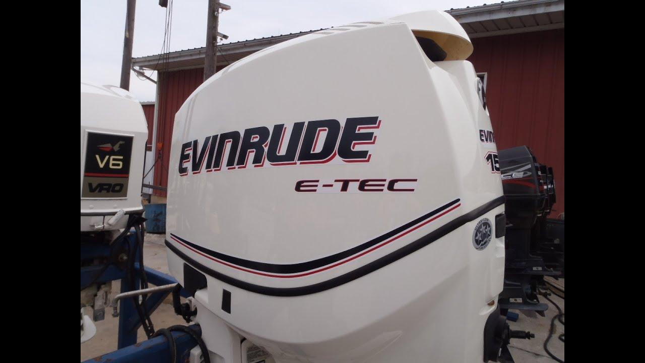 05302373 Used 2011 Evinrude E Tec E150dsliib 150hp 2