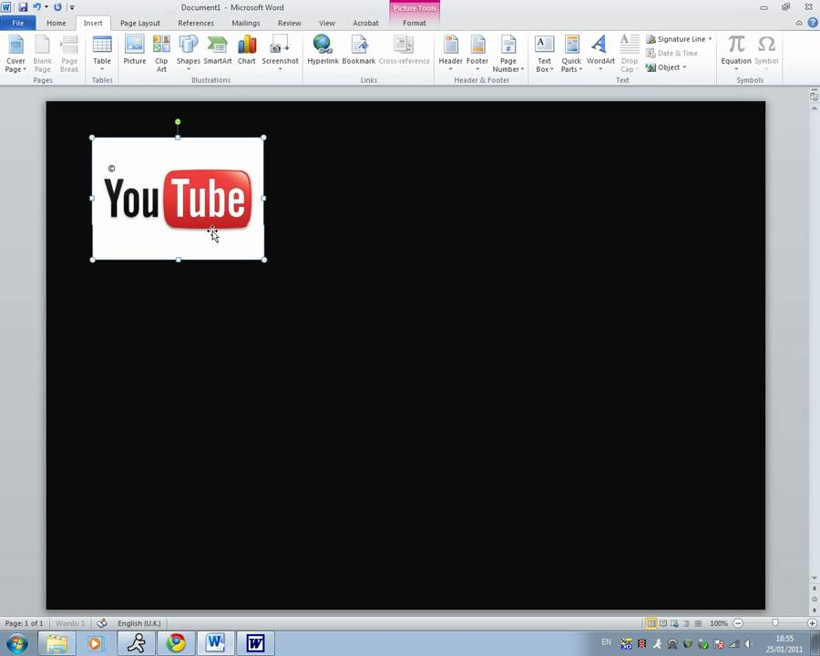 How To Insert The Tm And C Symbol In Microsoft Word 2010 Youtube