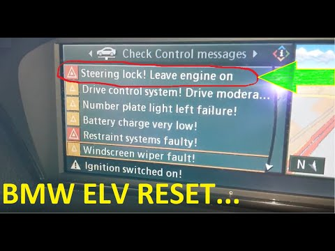 Bmw E60 Steering Lock Problem Repair Using Bmw Dis Youtube