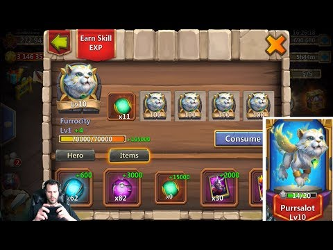 New Pet Purrsalot How Good Is This CAT? Castle Clash