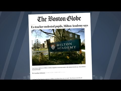 Milton Academy Abuse Admissions